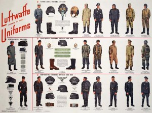 uniforme luftwaffe
